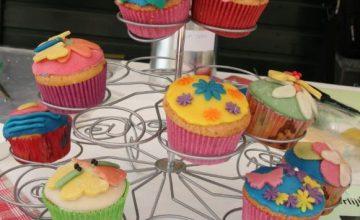 Cupcakejes versieren